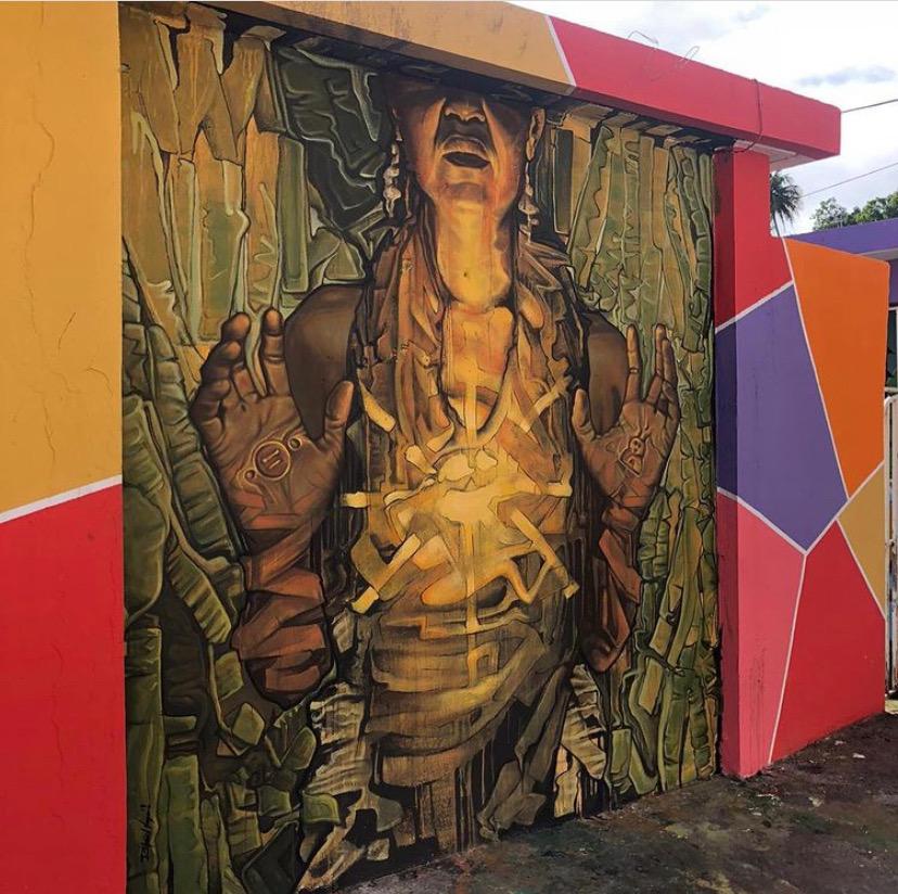 Miami Mural Artist Rafael Vega