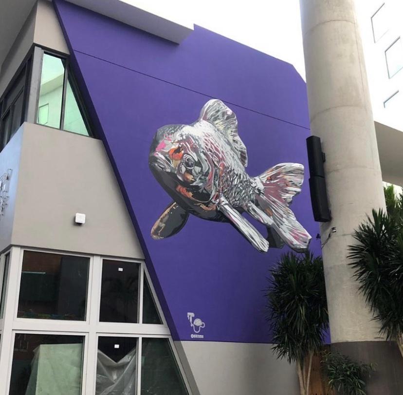 Bikismo Mural Artist Distrito Purto Rico