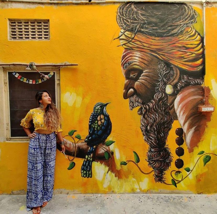 Sneha Chakraborty Miami Mural Artist